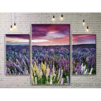 Модульные картины пейзажи, Art. NATM0043