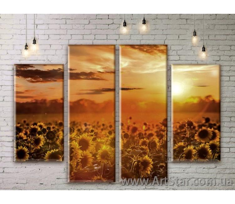 Модульные картины, пейзажи, Art. NATM0057