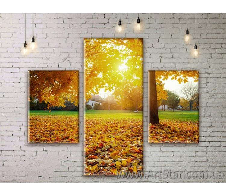 Модульные картины пейзажи, Art. NATM0063
