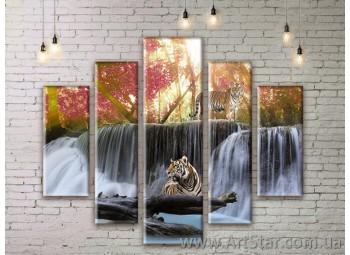 Модульные картины, пейзажи, Art. NATM0073