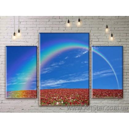 Модульные картины пейзажи, Art. NATM0075