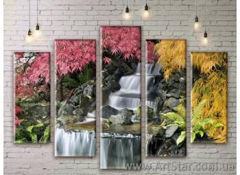 Модульные картины, пейзажи, Art. NATM0085