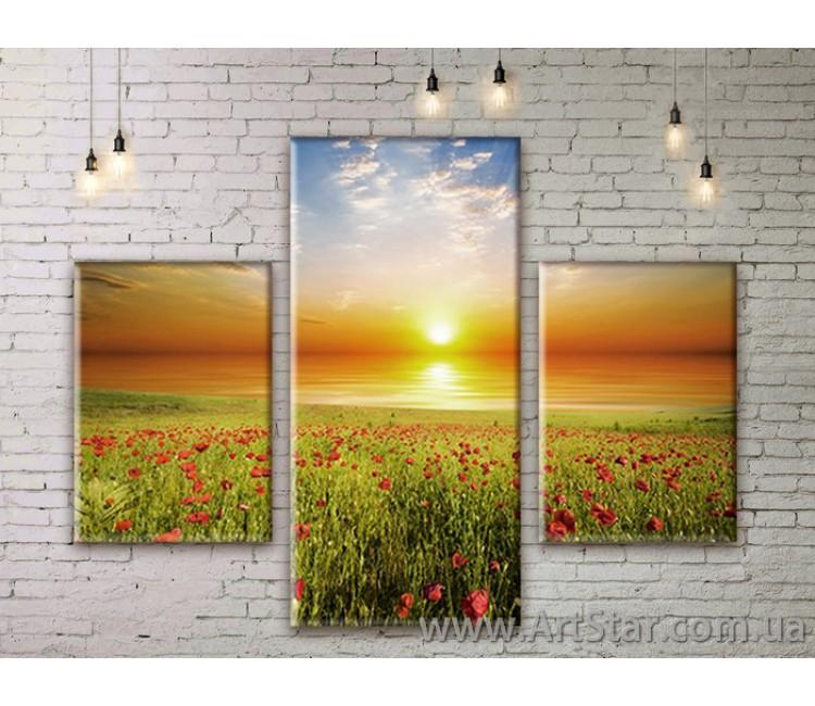Модульные картины пейзажи, Art. NATM0087