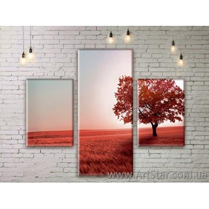 Модульные картины пейзажи, Art. NATM0099