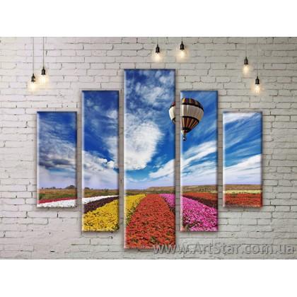 Модульные картины, пейзажи, Art. NATM0139