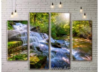 Модульные картины, пейзажи, Art. NATM0143