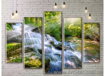 Модульные картины, пейзажи, Art. NATM0145