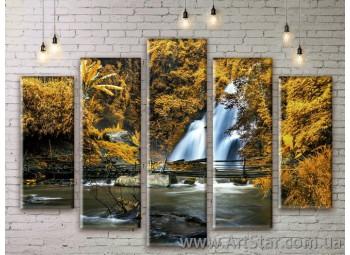 Модульные картины, пейзажи, Art. NATM0151