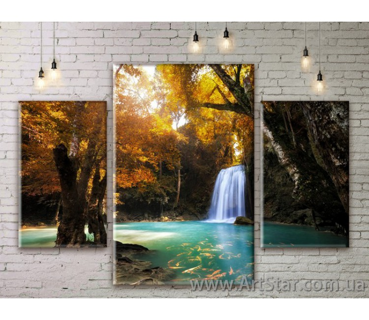Модульные картины пейзажи, Art. NATM0153