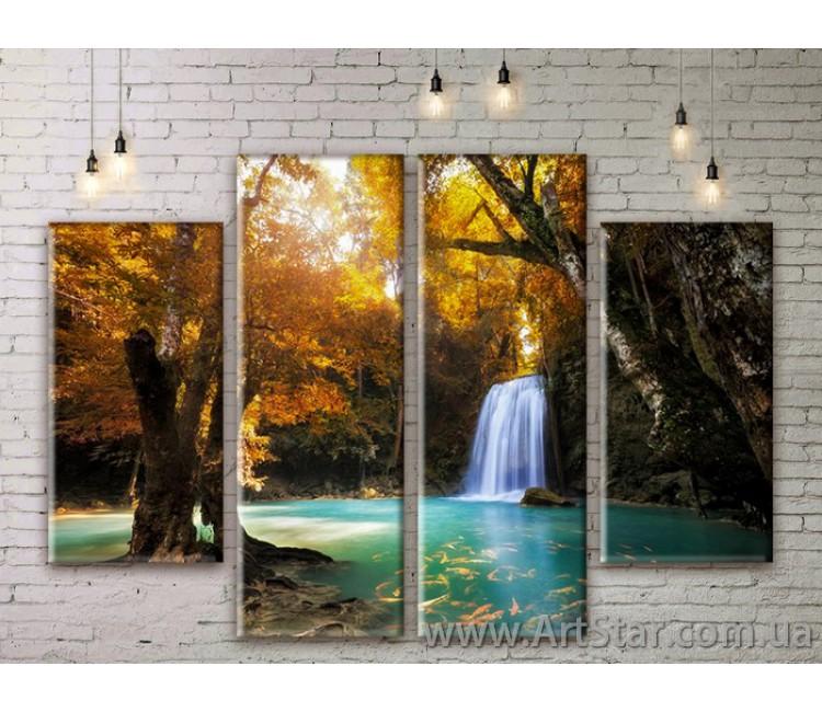 Модульные картины, пейзажи, Art. NATM0155
