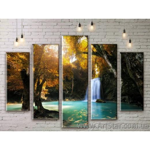 Модульные картины, пейзажи, Art. NATM0157