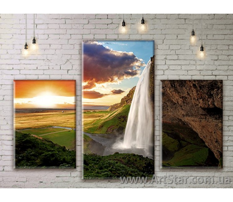 Модульные картины пейзажи, Art. NATM0159