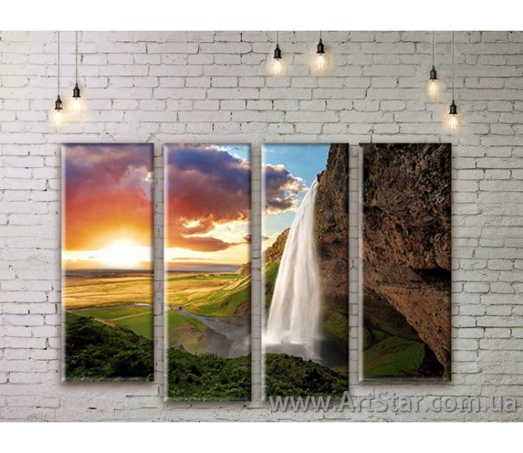 Модульные картины, пейзажи, Art. NATM0161