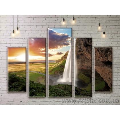 Модульные картины, пейзажи, Art. NATM0163