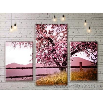 Модульные картины пейзажи, Art. NATM0171