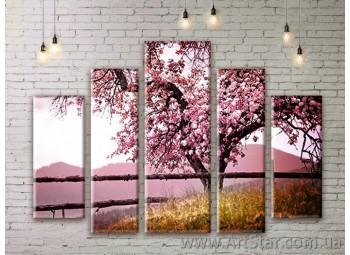 Модульные картины, пейзажи, Art. NATM0175