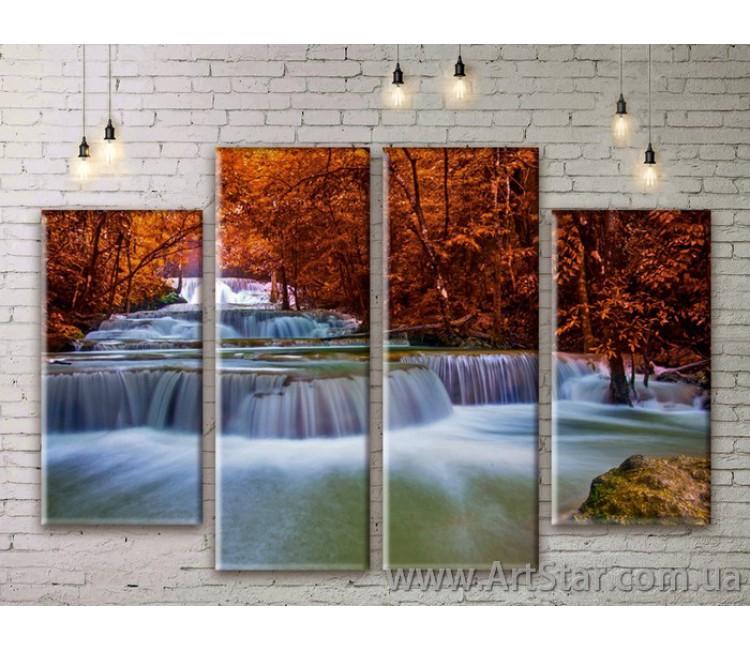 Модульные картины, пейзажи, Art. NATM0179