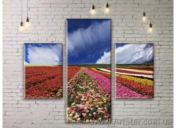 Модульные картины пейзажи, Art. NATM0183