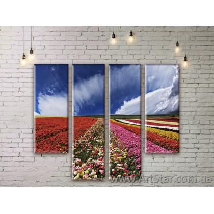 Модульные картины, пейзажи, Art. NATM0185
