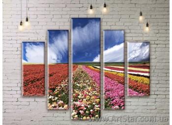 Модульные картины, пейзажи, Art. NATM0187