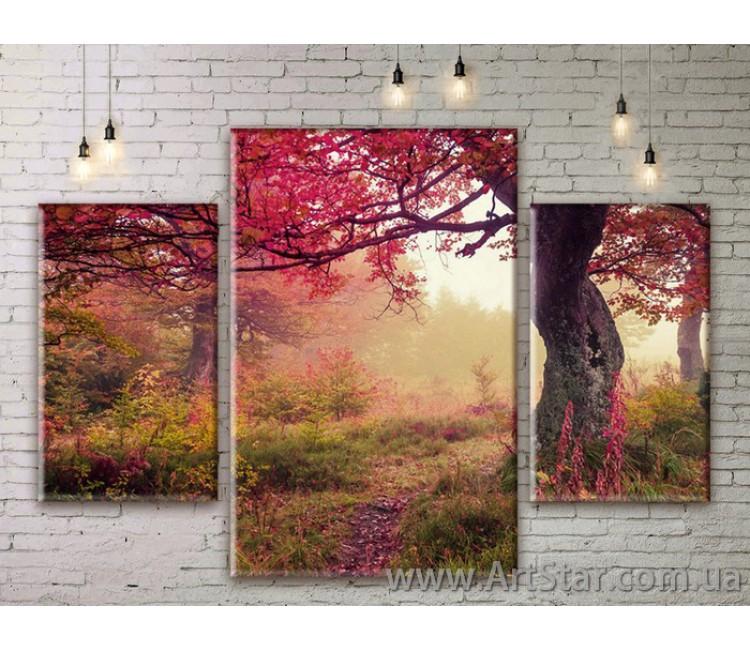 Модульные картины пейзажи, Art. NATM0189