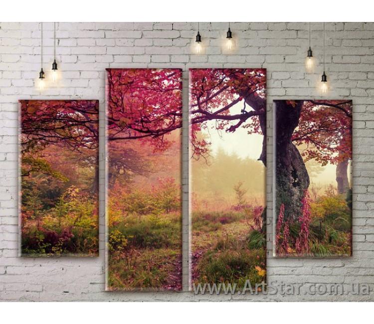 Модульные картины, пейзажи, Art. NATM0191
