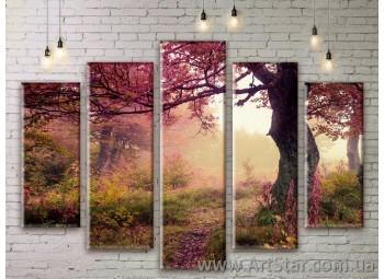 Модульные картины, пейзажи, Art. NATM0193