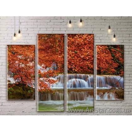 Модульные картины, пейзажи, Art. NATM0203
