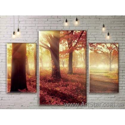 Модульные картины пейзажи, Art. NATM0213