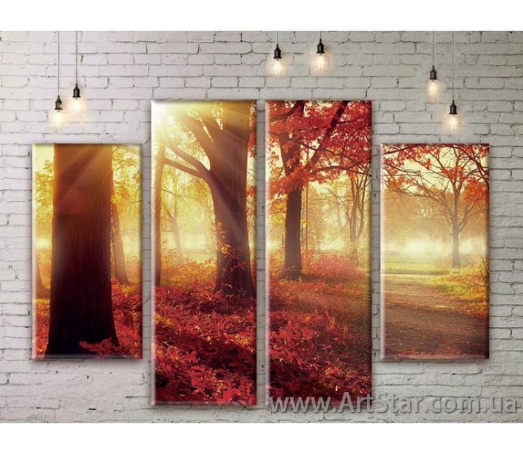 Модульные картины, пейзажи, Art. NATM0215
