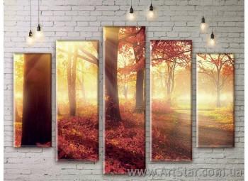 Модульные картины, пейзажи, Art. NATM0217