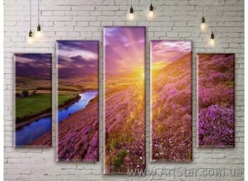 Модульные картины, пейзажи, Art. NATM0223
