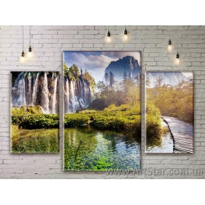 Модульные картины пейзажи, Art. NATM0231