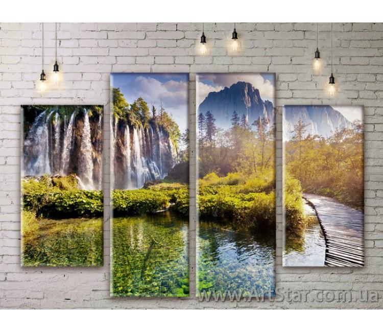 Модульные картины, пейзажи, Art. NATM0233