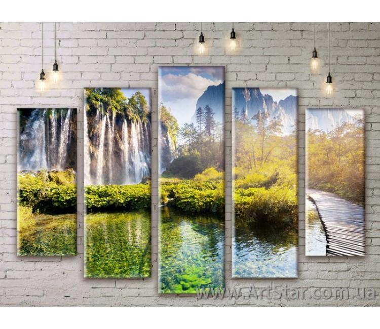 Модульные картины, пейзажи, Art. NATM0235