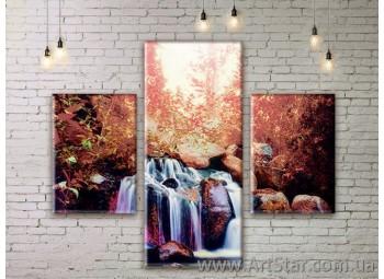 Модульные картины пейзажи, Art. NATM0255