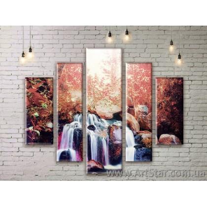 Модульные картины, пейзажи, Art. NATM0259