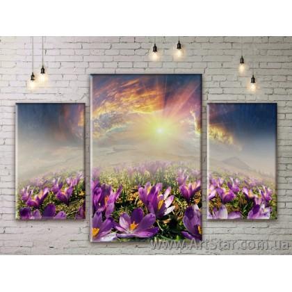 Модульные картины пейзажи, Art. NATM0273