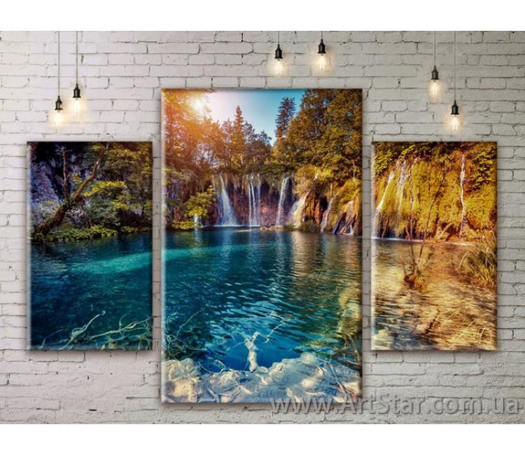 Модульные картины пейзажи, Art. NATM0279