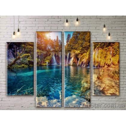Модульные картины, пейзажи, Art. NATM0281
