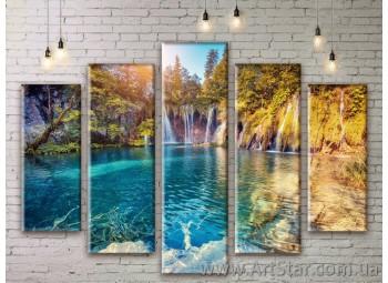 Модульные картины, пейзажи, Art. NATM0283