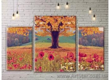 Модульные картины пейзажи, Art. NATM0297