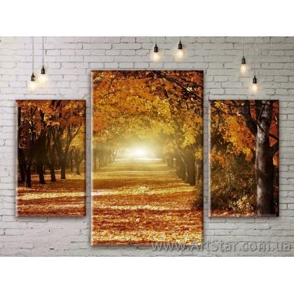 Модульные картины пейзажи, Art. NATM0303