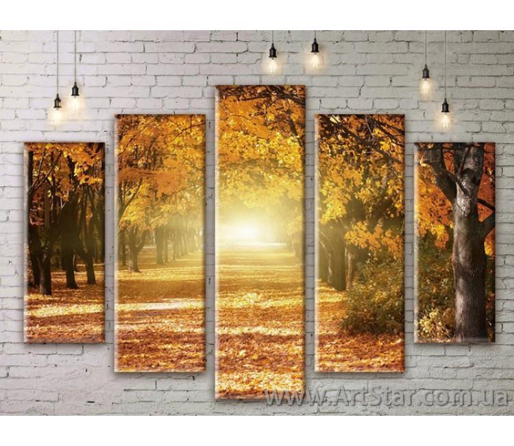 Модульные картины, пейзажи, Art. NATM0307