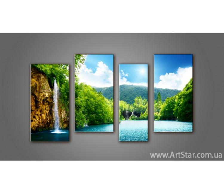 Модульная картина Пейзажи природы (4) 15