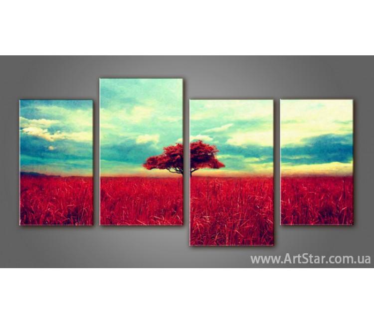 Модульная картина Пейзажи природы (4) 16