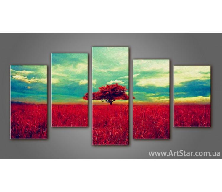 Модульная картина Пейзажи природы (5) 16