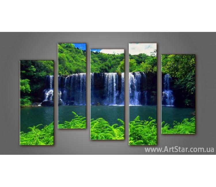 Модульная картина Пейзажи природы (5) 17