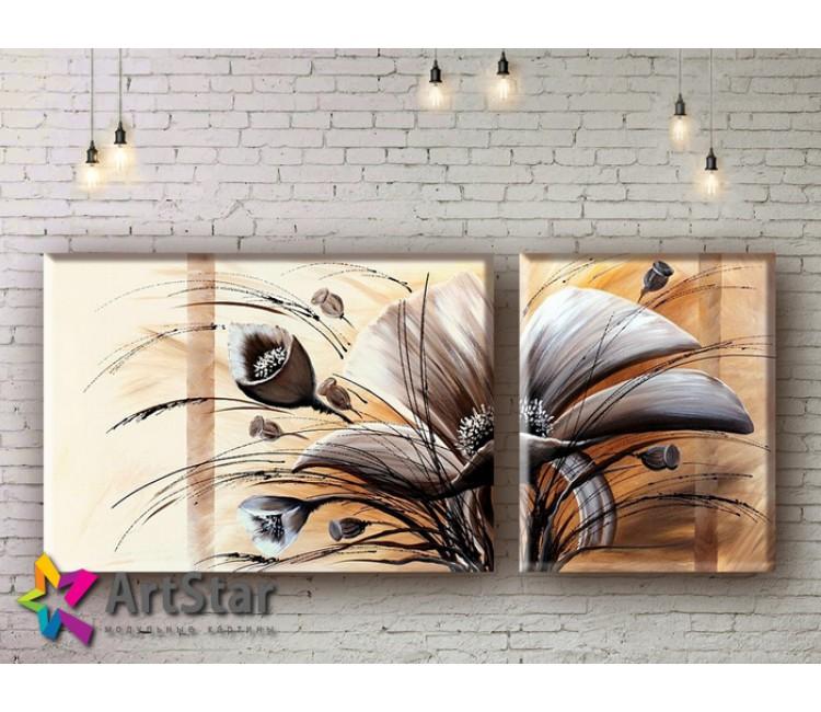 Модульные Картины, рисованные, маслом, Art. MHM17_2_007