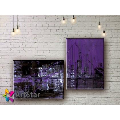 Модульные Картины, рисованные, маслом, Art. MHM17_2_009